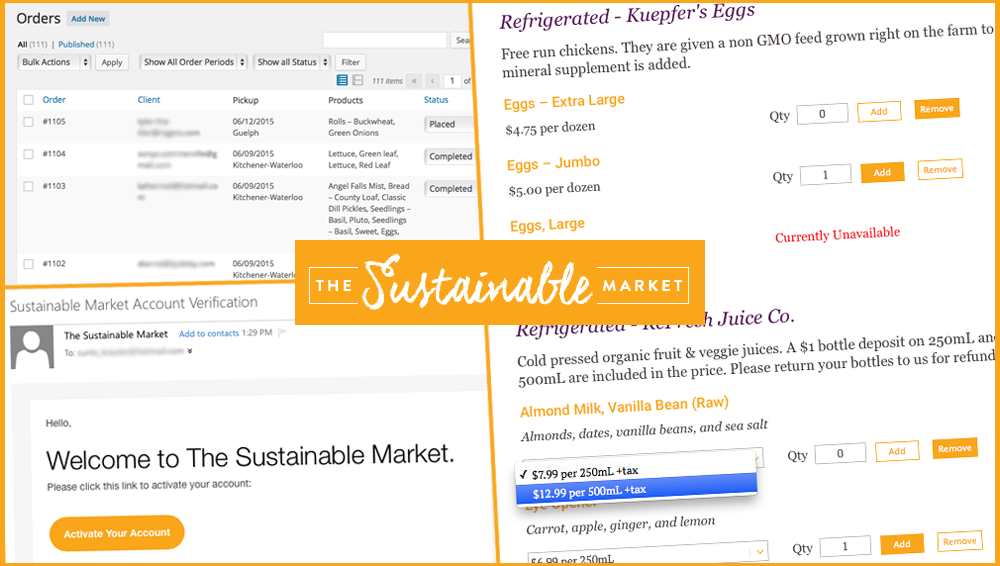Sustainable Market